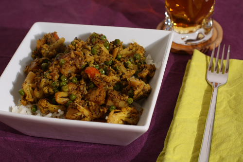 Another vegetable curry